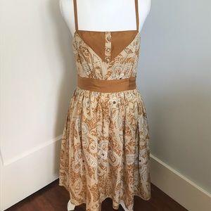 Ana Sui for Anthropologie Silk Dress